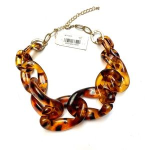 M. Haskell Tortoise Shell Necklace